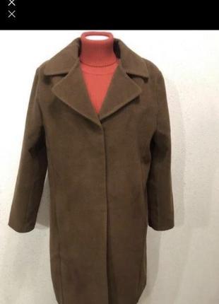 Базовое шерстяное пальто