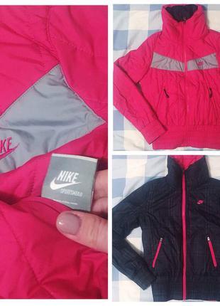 Куртка nike (original) двухсторонняя
