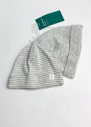 Шапка h&m 2в1 для новорожденных