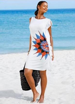Летнее, белое платье