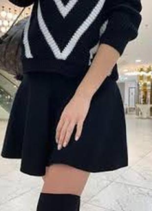 Трикотажная юбка gap
