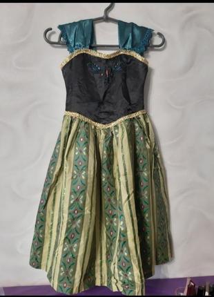 Платье анна фрозен