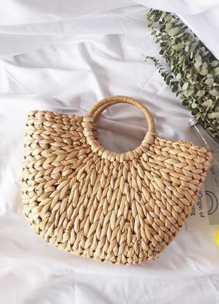 Соломенная сумочка 👒