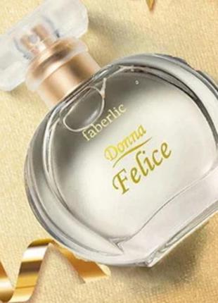 Парфюмерная вода donna felice донна феличе фелисия фаберлик