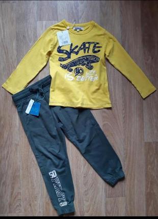 Комплект  :  кофта  и штаны известного итальянского бренда ovs kids fagottino