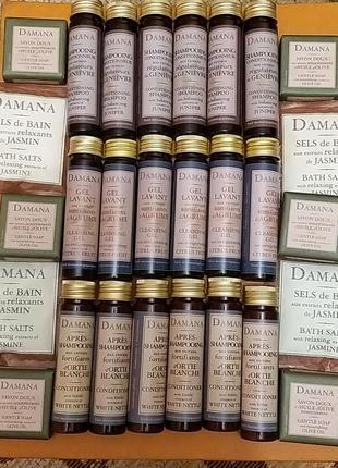 Damana набор для волос и тела