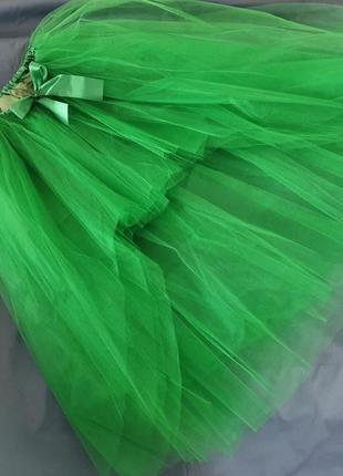 Стильна праздничная фатиновая юбка