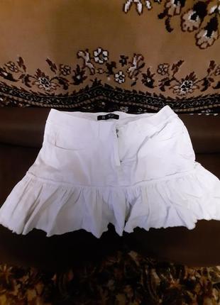 Летняя юбка из легкого коттона