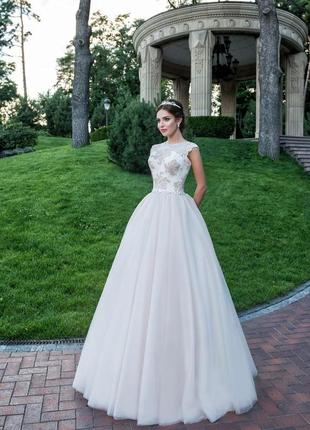Роскошное свадебное  платье от elena morar
