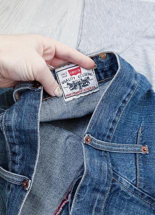 Levi's джинсовая юбка миди оригинал3 фото