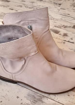 Donna carolina белые слоновая кость ботинки полуботинки замшевые