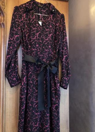Платье вечернее в пол sassofono шифоновое