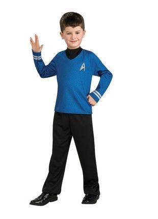 Спок звездный путь стартрек костюм 134-146