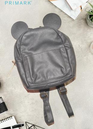 Миниатюрный рюкзак с ушками disney by primark