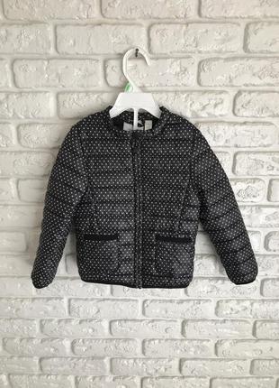 Курточка стьогана ультратонкая стеганная куртка франція okaidi