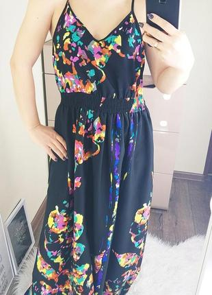 George 12/40/l легкое невесомое платье/сарафан с яркими красками3 фото