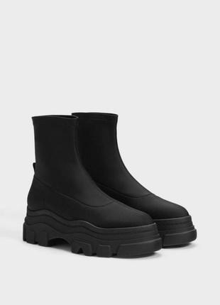 Ботинки на платформе bershka