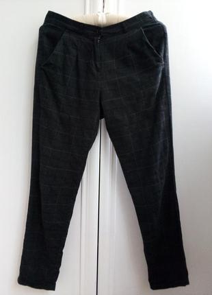 Итальянские брюки с высокой талией