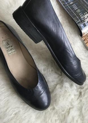Кожаные туфли pompili