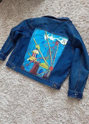 Кастомная джинсовка