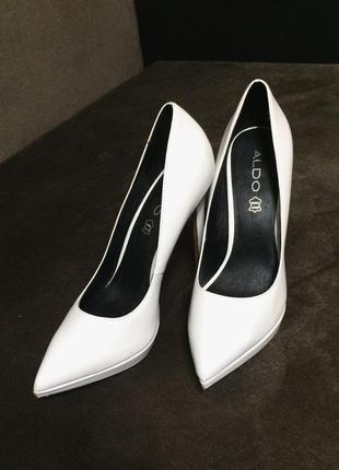e01c6bbb7306 Кожаные белые туфли лодочки aldo 39р ALDO, цена - 700 грн,  4056075 ...