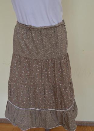 Шикарная котоновая юбка