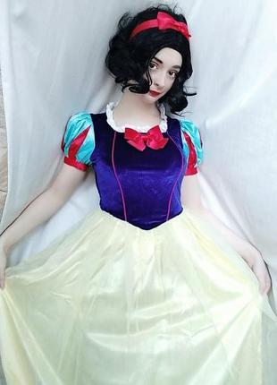Белоснежка карнавальное маскарадное платье, косплей костюм, дисней, принцесса, аниматор