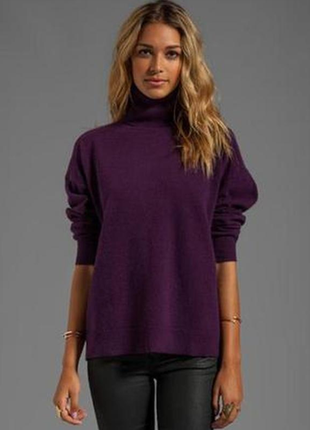 Шерстяной свитер by malene birger премиум бренд! шерсть - ангора! р.l (eur 40)