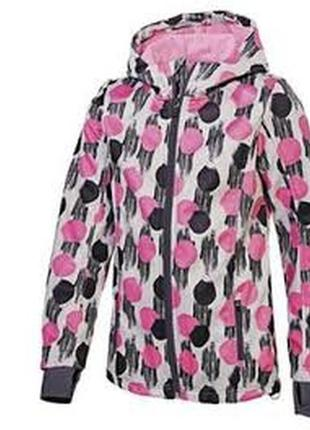 Куртка softshel для дівчинки crivit