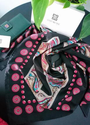 Шёлковый платок в стиле givenchy