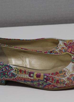 Роскошные австрийские кожаные туфли, балетки peter kaiser 39-40