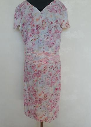 Классное нежное вискозное платье