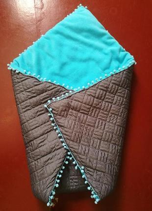Тёплое одеяло-кокон