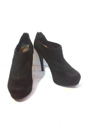 Стильные ботильоны / ботинки на шпильке от бренда new look, р.38 код b3810