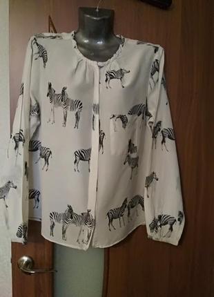 Женская блуза zara, португалия
