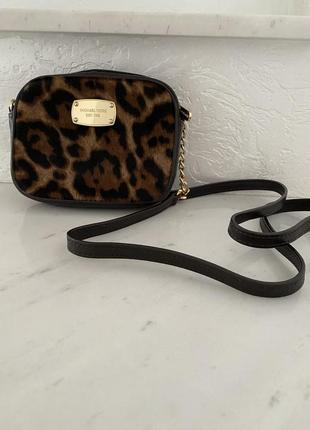Леопардовая сумочка .