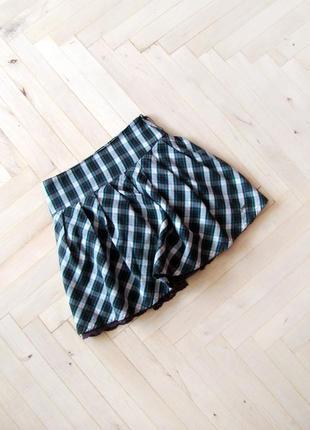 Пышная юбка в клетку pepe jeans