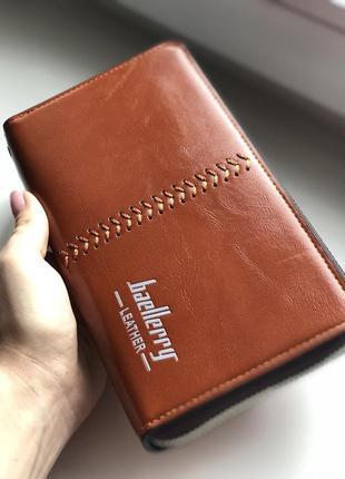 Мужской клатч baellerry leather