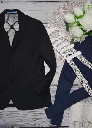 6 - 7 лет 122 см h&m фирменный мего крутой классический пиджак модному мальчику