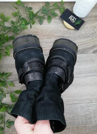 🌿37🌿remonte. кожа. стильные ботинки на низком ходу2 фото