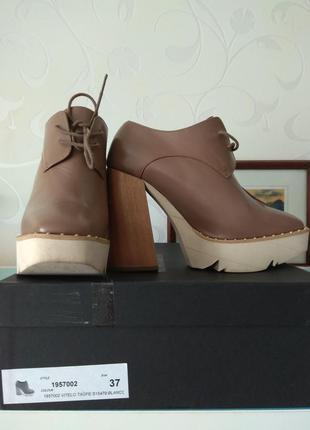 Туфли, ботильоны paloma barcelo на высоком каблуке