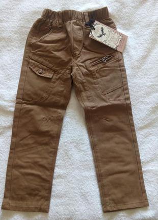 Коттоновые брюки grace р.110