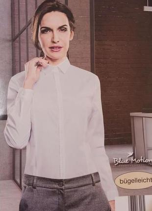 Роскошная качественная женская блуза рубашка blue motion. размер евро 40