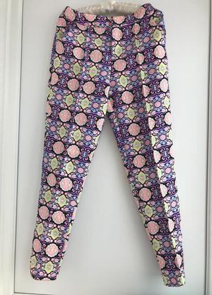 Модные яркие штаны брюки чинос, разноцветные