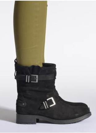 Супер модные ботинки, полусапожки, ботильоны pepe jeans. оригинал.