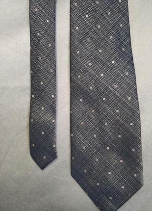 Шёлковый галстук pierre cardin