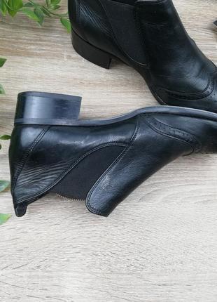 🌿37🌿европа🇪🇺 paul green. кожа. классные ботинки, челси на низком ходу3 фото