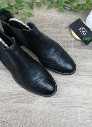 🌿37🌿европа🇪🇺 paul green. кожа. классные ботинки, челси на низком ходу6 фото