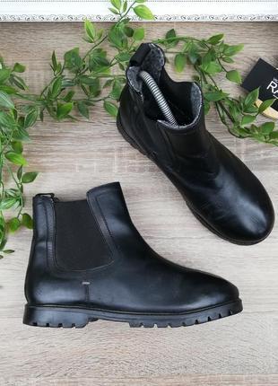 🌿37🌿европа🇪🇺 next. кожа. классные ботинки