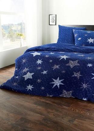 Комплект флисового постельного белья евро размер 135*190 германия meradiso
